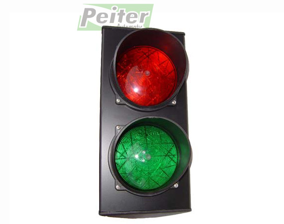 Double Traffic Light With Bulbs Red Green Light Power Supply 230 V EBay